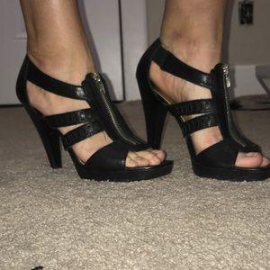 Jessica Simpson zip up pumps